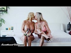 Brandi Love & Alexis Fawx Rim, Kiss and Lick Ea...