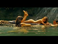 Kiele Sanchez and Milla Jovovich hot In A Perfect Getaway movie NO NUDE
