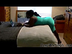 SENSUAL LOVE MAKING BY BLACK COUPLE !!