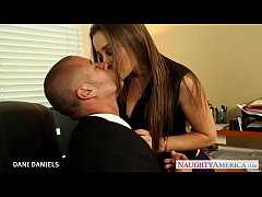 Office babe Dani Daniels take cock