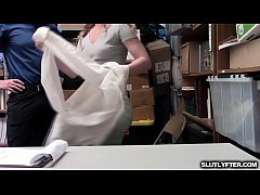 Shoplyfter Daisy Stone took the LP Officers deal and her tight pussy is now getting romp