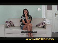 Casting - Brunette milf with a body to die for