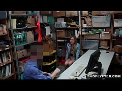 Shoplyfter - Scammer Teen Fucked By Older Detective