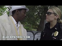 BLACKPATROL - Female Cops Make a Pimp a Ho (xb1...
