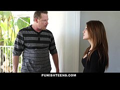 PunishTeens - Hot Step-Daughter Punished and Fu...