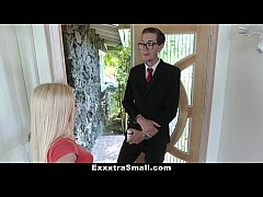 ExxxtraSmall - Petite Blonde Conned and Fucked ...