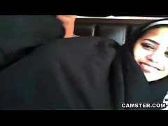 Amateur jiggles her big natural tits and ass wh...
