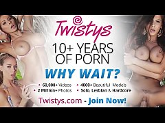 Twistys - (Alyssia) starring at Dinner For One