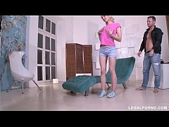 Teen Slut Adelina Has Her Asshole Gaped By Two ...