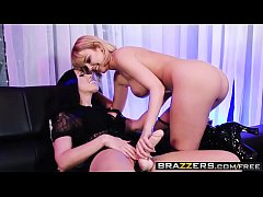 Hot And Mean -  The Submissive Stripper scene starring Dillion Harper and Rachel Starr