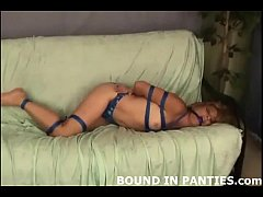 Kinky housewife Brandi tied up and tormented
