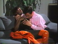 Black Velvet scene 05- Peter North and Domonique Simone (VHS)