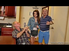 Morning wood blowjob and french amateur anal threesome Introducing