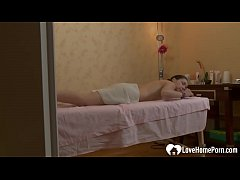 She might have wanted a simple massage, but he decided to give her something better.