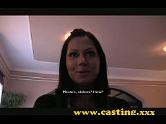 Casting - Gorgeous teen outside creampie