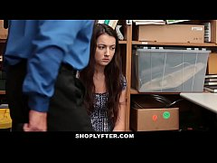 Shoplyfter - Cute Teen Fondled & Fucked