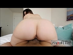 Point Of View Of Me Fucking This Brunette Teen I Met - Pov4Life.com