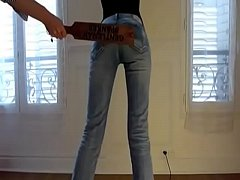 Naughty teen is harshly punished. Bdsmmasters.com