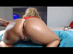 white bbw deepthroat bbc then fuck on cam