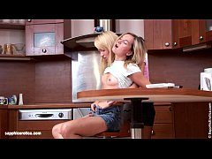 Passionate lesbian sex with Janet and Karin on ...