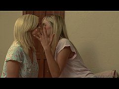 Hot lesbian babes playing a dirty game