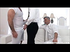 Young Mormon Twink Threesome With Daddy President And Bear Boss
