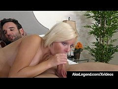 Hot Babe Alessandra Noir Swallows Big Load From...