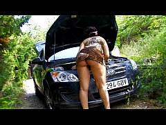 French amateur fucking filmed outdoor Vol. 8