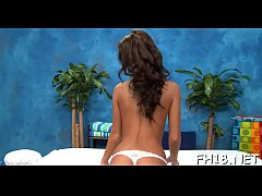 Girl plays with marital-device