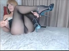 Webcams Stockings Foot Fetish Nylon Model Pantyhose