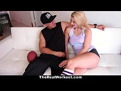 TheRealWorkout - Horny Tight Blonde Wants To Pl...