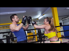 Hot Big Ass & Tits MILF Fucked In Boxing Ring