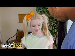BANGBROS - Petite & Young Riley Star Interracial Scene