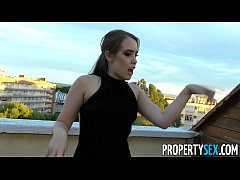 PropertySex - Hot Spainish babe fucks American looking for flat to rent