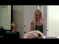 Bored Elsa Jean wants to lick her 19 yo roommat...
