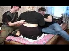 Russian Mom and Two Teens
