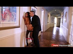 Janice Griffith fingered and deepthroats