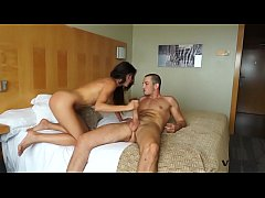 Latina Alexa Tomas has her tight fit body ravaged by her man