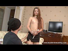 DOUBLEVIEWCASTING.COM - MARIA GETS USED TO HEAVY POUNDING