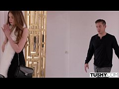TUSHY Young Model Gapes For Her Manager
