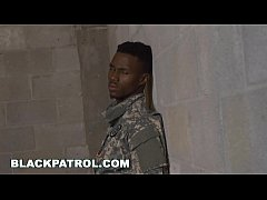 BLACKPATROL - Fake Soldier Gets Used as a Fuck ...