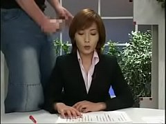 japanese news with cumshots