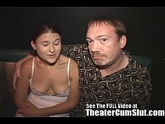 Wife Sucks & Fucks Strangers In a Seedy Porn Theater