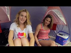 GIRLS GONE WILD - Young & Gorgeous Lesbians Have Sex On The Beach