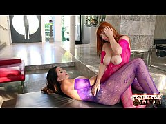 Hottest Big Boobs Lesbians Alison Tyler And Penny Pax!