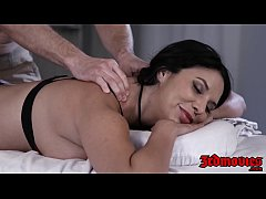 Busty latina rides cock for creampie