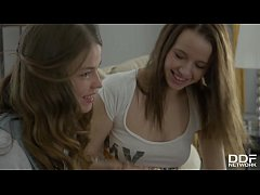 Euro Teens Olivia Grace & Jacqueline Get Down During Lesbian Play Date