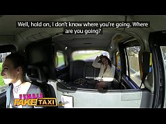 FemaleFakeTaxi Dating horny busty babe gets better squirting orgasm offer