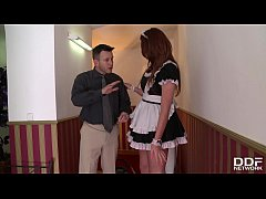 Endless Lust Makes Redhead Emma Leigh Ride Enormous Dick In Hotel's Hallway