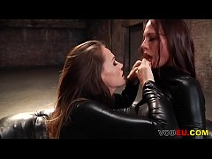 Stunning lesbian duo Tori Black and Aidra Fox